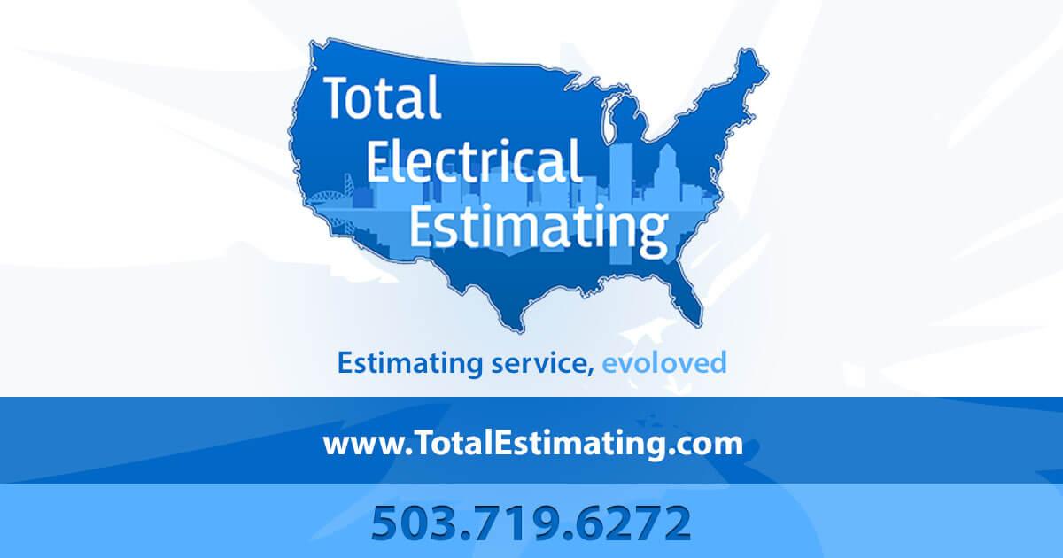 Total Electrical Estimating | Estimating Service Evolved